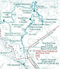 Oak Mountain State Park Trail Map by Using Georgia Native Plants January 2016