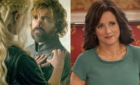 veep y game of thrones se perfilan como favoritos para los premios