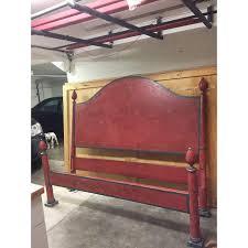 painted california king headboard and footboard italian bed chairish