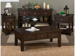Sofa Desk Table by Jofran Kona Grove Sofa Media Table Great American Home Store