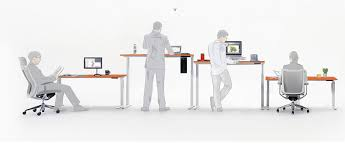 Height Adjustable Standing Desk by Electric Standing Desk Table Frame Base Sit Stand Lift Dual Motor