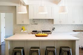 Marble Mosaic Range Backsplash Design Ideas - White marble backsplash