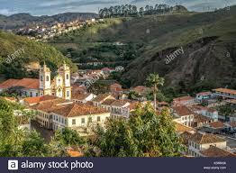 si e unesco high angle view of cityscape ouro preto a historic colonial city