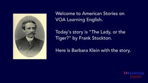 the lady or the tiger by frank r stockton