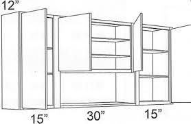 open kitchen cabinets forevermark cinnamon glaze w6030 open wall cabinet rta