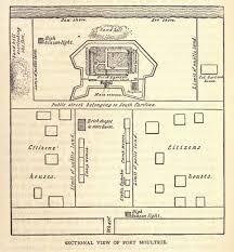Fort Drum Housing Floor Plans Battlefields In Motion Fort Moultrie 1842 1860 Written