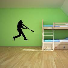 baseball batter wall decal sticker mural art thevinylguru com