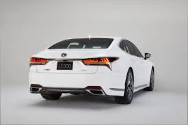 lexus cars nyc 2018 lexus ls 500 f sport debuts in nyc the torque report