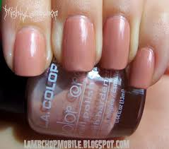 this is a terrible nail polish name lambchop mobile