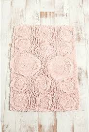 shabby chic bath mat blush ruffled roses how much do you want to