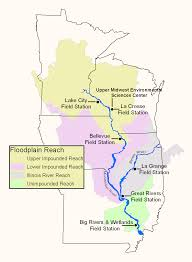 Illinois City Map by Upper Midwest Environmental Sciences Center Illinois River