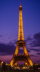 the eiffel tower and a cloudy sunset sumit4all photography