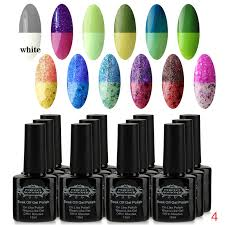 8ml perfect summer gel nail polish shiny classic color uv led
