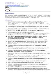 oracle performance tuning resume resume for your job application