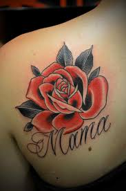 neo traditional rose tattoo tattoo collections