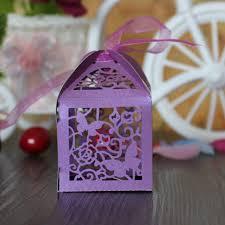 bonbonni re mariage 50 pcs vintage partie thème de mariage bonbonnière papillon