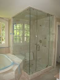 Glass Shower Door Towel Bar by Shower Doors Atlanta Ga Echolsglass Com