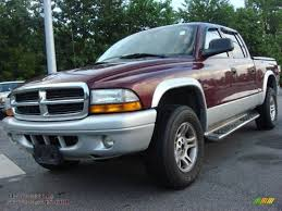 dodge dakota crew cab 4x4 for sale 2003 dodge dakota slt cab 4x4 in garnet pearl