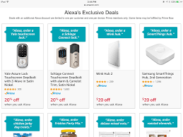 smart items for home alexa deals on smart home items may be prime members only deals