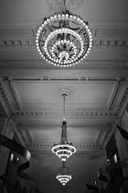 New Chandeliers Chandeliers In Grand Central Station New York Stock Photo Image