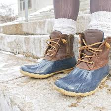 womens boot socks canada s saltwater duck boot boots sperry top sider