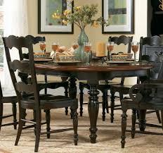 Black Wood Dining Room Sets Modren Round Dining Room Sets For 6 Fantastic Interior Design