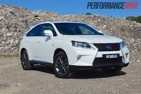 lexus rx 350 review philippines 2012 lexus rx 450h f sport review performancedrive