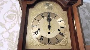 Hermle Grandfather Clock Ams Clock With Hermle 351 030a Movement Youtube