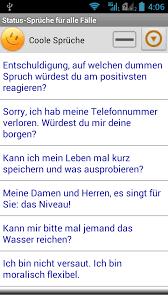 status sprüche für alle fälle play store revenue - Statussprüche Für Whatsapp