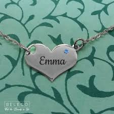 custom heart necklace 298 best name necklace images on jewelry necklaces