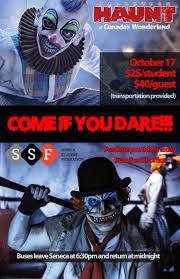 halloween haunt at canada u0027s wonderland seneca student federation