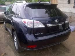 lexus price in kenya ncs impounded 2010 lexus rx350 for auction at give away price due to
