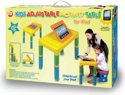 Activity Tables For Kids Amazon Com Cta Digital Kids Adjustable Activity Table For Ipad
