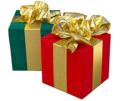 Beautifully Wrapped Gifts - upcoming events dramatic impact