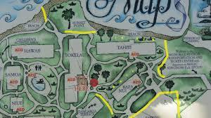 Dvc Map Polynesian Dvc Walt Disney World