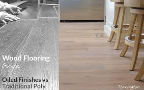 finish hardwood floors vs polyurethane