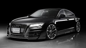 audi a7 modified wald international reveals sinister audi a7 sportback
