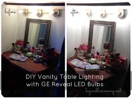 makeup vanity with light bulbs vanity table with lights diy best home furniture decoration