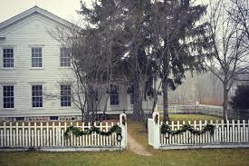 old fashioned house old fashioned house with white picket fence stock photo image of