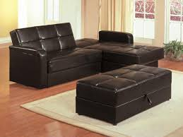 furnitures awesome sleeper sofa with chaise leather sleeper