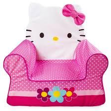 Hello Kitty Toddler Sofa Marshmallow Furniture Children U0027s Foam Comfy Chair Hello Kitty By