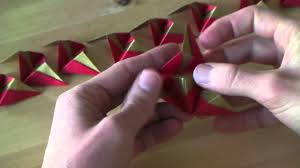 origami tutorial ornament