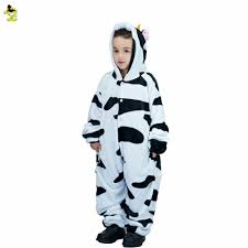 new autumn and winter pajamas sets dairy cow