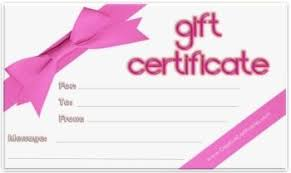 blank gift certificate template exotic tattoes pinterest