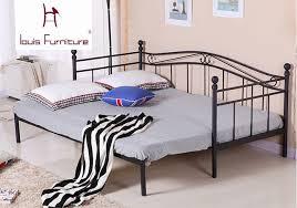 canapé princesse de style européen de fer lit moderne mobilier de chambre princesse