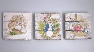 rabbit crib bedding rabbit nursery set handpainted wood signs