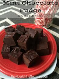 mint chocolate fudge dairy and gluten free