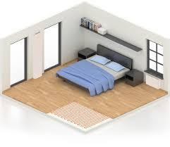 temperature chambre a coucher chambre radson