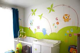 exemple chambre bébé décoration chambre bebe theme jardin exemples d aménagements