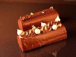 cuisine eric leautey recette de la bûche de noël chocolat poires d éric léautey pastry